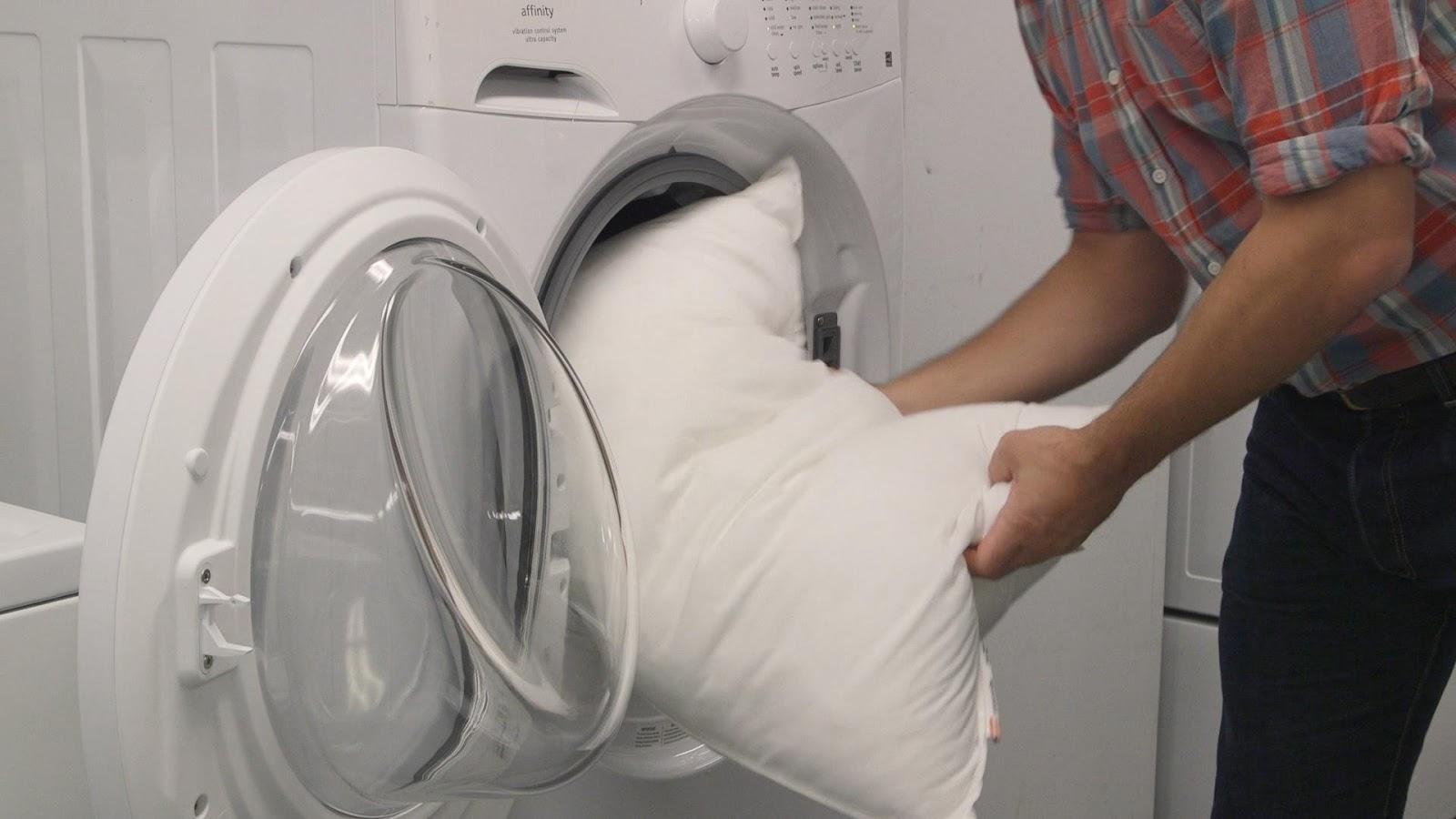 Hướng dẫn cách giặt gối bằng máy giặt hiệu quả - HDSD Online